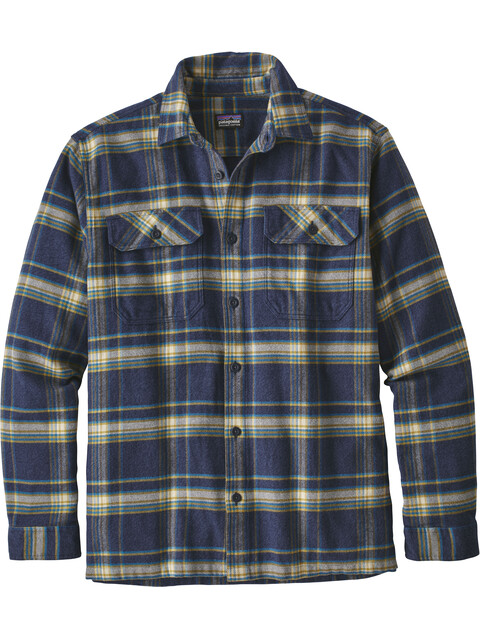 Patagonia Fjord Flannel Longsleeve Shirt Men activist: navy blue